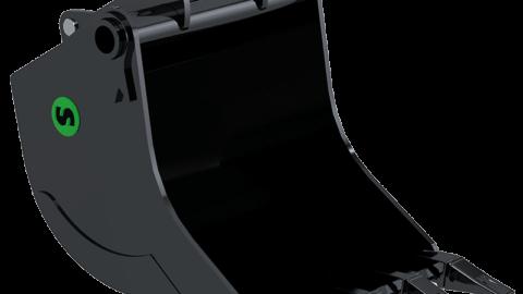 DiggingBucket withteeth Steelwrist 800x800