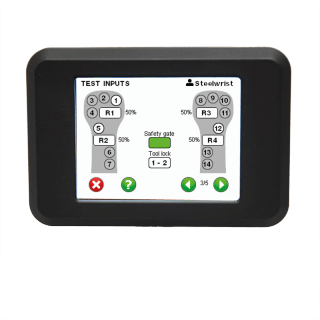 Display controlsystem G2 tiltrotator transp