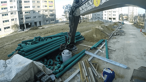New Tiltrotator Work – Operator Jos