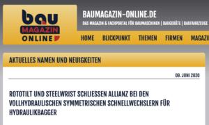 Rototilt Steelwrist Allianz