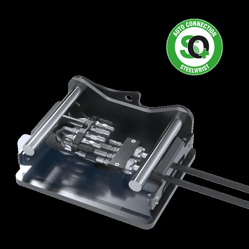 SQ Adaptor Manifold Steelwrist