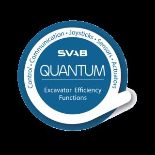 SVAB Quantum logo blue