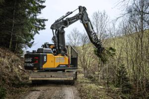 tiltrotator forest work