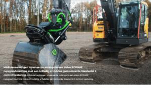 snelwissel Volvo ECR145E Steelwrist