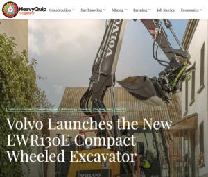 Steelwrist Volvo EWR130E