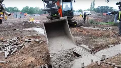 Steelwrist Hitachi Ground-Worker tiltrotator 2