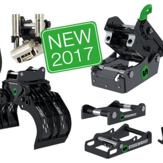 Steelwrist NEW product range 2017