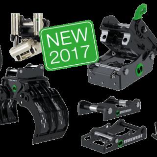Steelwrist NEW product range 2017