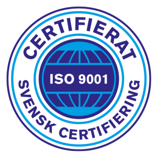 SveCert ISO 9001 900x900