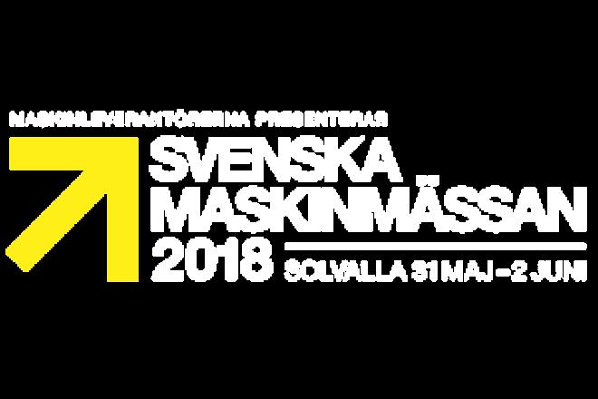 Svenska Maskinmässan 2018 Vit Txt