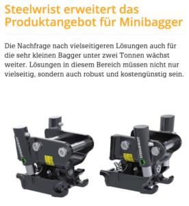 TCX minibagger