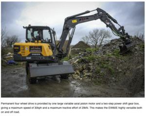 Steelwrist tiltrotator Volvo