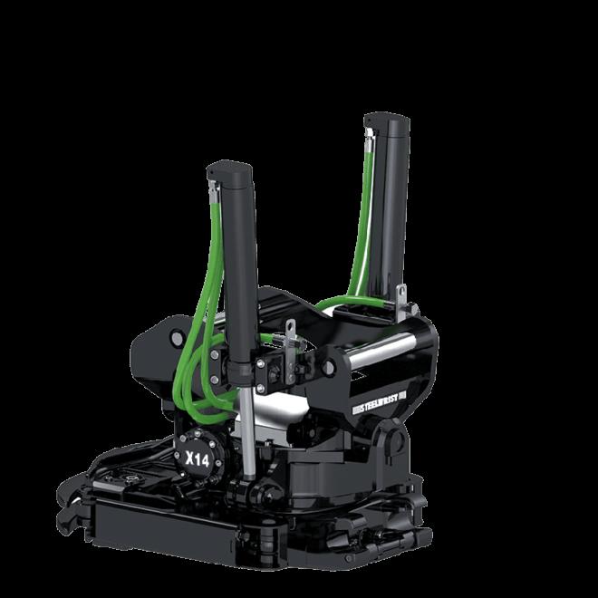 X14 Tiltrotator Steelwrist
