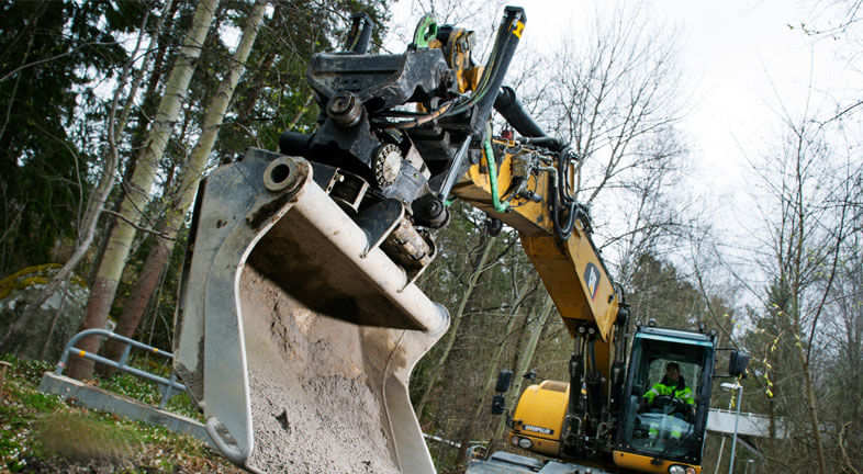 X20 Cat Tiltrotator action