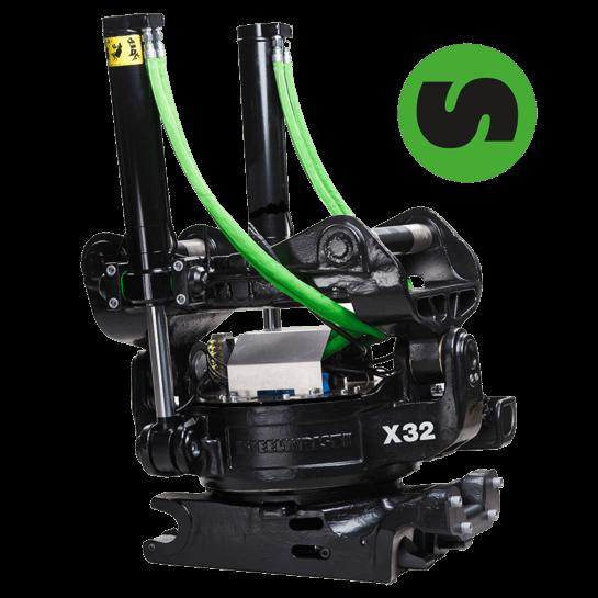 X32 Tiltrotator Steelwrist