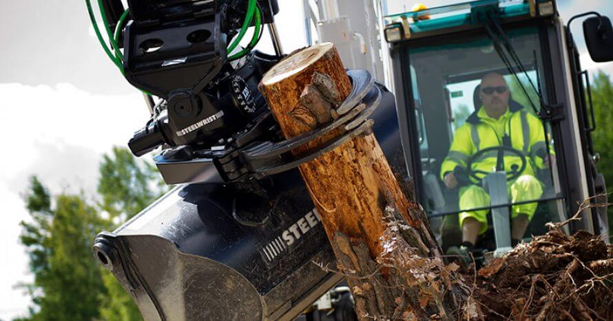gripper casette excavation bucket