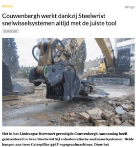 snelwissel Steelwrist tool